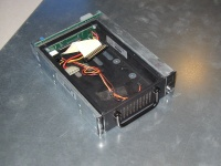 SCSI tray, together