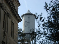 The Engineering water tower.