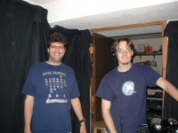 The fearless sound people.  Josh Cramer and Craig?