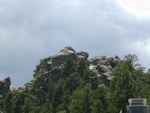 Another mountain peak in the area.