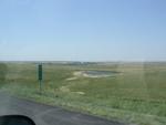 Scenery, along I-90.