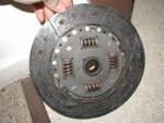 Clutch disk.  In decent shape.